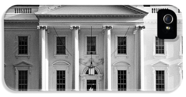 Whitehouse iPhone 5 Case - north facade from pennsylvania avenue the white house Washington DC USA by Joe Fox