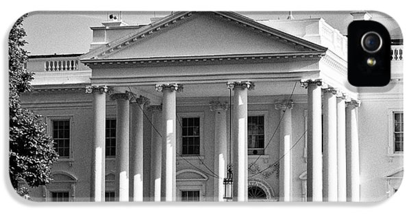 Whitehouse iPhone 5 Case - north facade of the White House Washington DC USA by Joe Fox