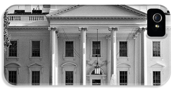 Whitehouse iPhone 5 Case - northern facade of the white house Washington DC USA by Joe Fox