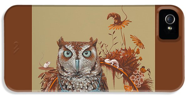 Northern Screech Owl IPhone 5 Case