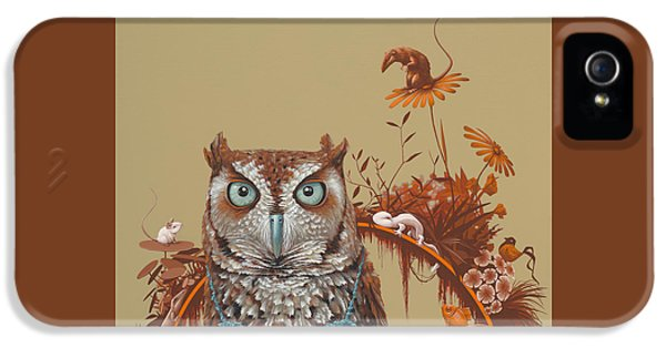 Northern Screech Owl IPhone 5 / 5s Case by Jasper Oostland