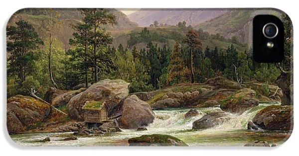 Norwegian Waterfall IPhone 5 Case