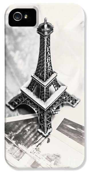 Eiffel Tower iPhone 5 Case - Nostalgia In France by Jorgo Photography - Wall Art Gallery