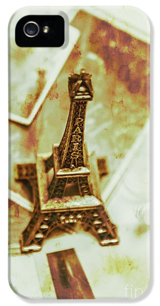 French iPhone 5 Case - Nostalgic Mementos Of A Paris Trip by Jorgo Photography - Wall Art Gallery