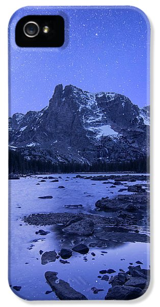 IPhone 5 Case featuring the photograph Notchtop Night Vertical by Aaron Spong
