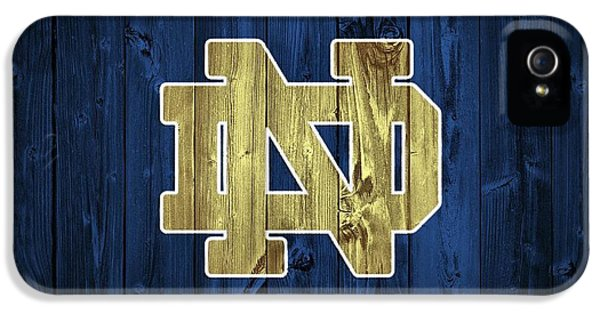 Day iPhone 5 Case - Notre Dame Barn Door by Dan Sproul