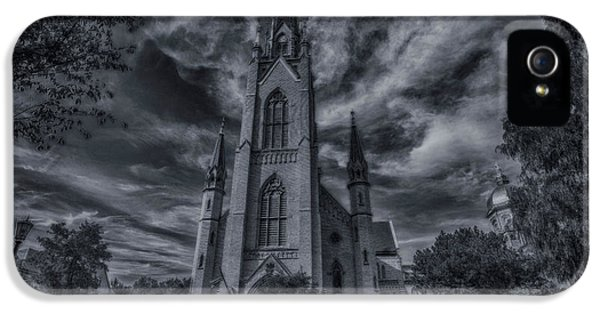 Notre Dame University Church IPhone 5 / 5s Case by David Haskett