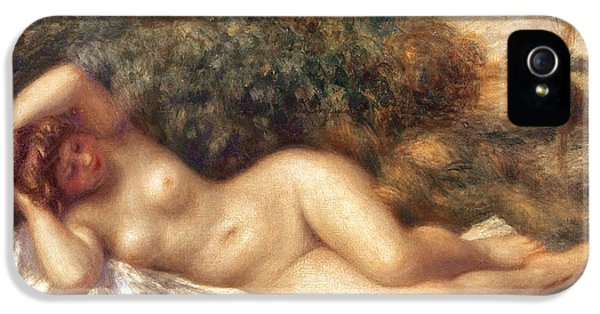 Nude IPhone 5 Case by Pierre Auguste Renoir