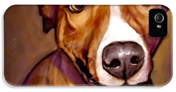 Portraits iPhone 5 Case - Number One Fan by Sean ODaniels