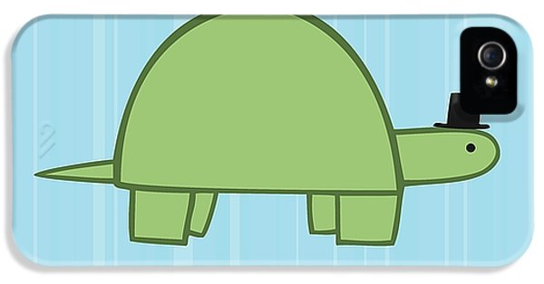 Turtle iPhone 5 Case - Nursery Art Boy Turtle by Christy Beckwith