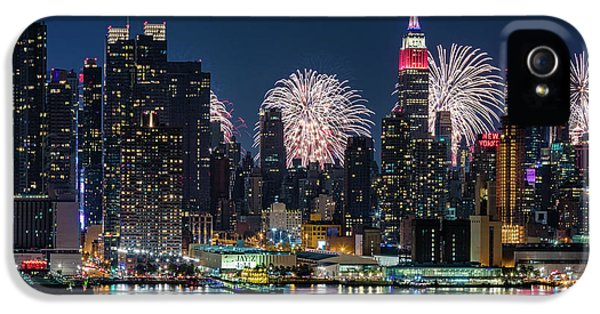 Nyc 4th Of July Fireworks Celebration IPhone 5 Case