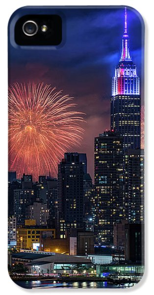 Nyc Fourth Of July Fireworks  IPhone 5 Case
