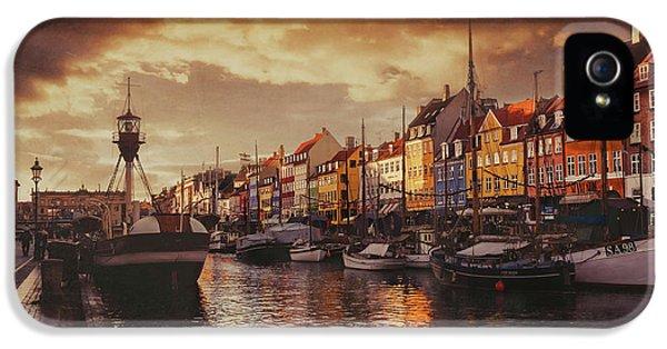 Nyhavn Sunset Copenhagen IPhone 5 Case
