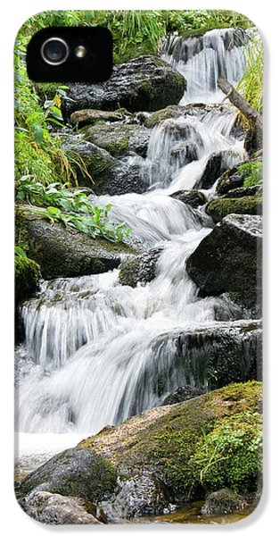 IPhone 5 Case featuring the photograph Oasis Cascade by David Chandler