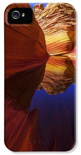 Orange iPhone 5 Case - Oasis by Chad Dutson