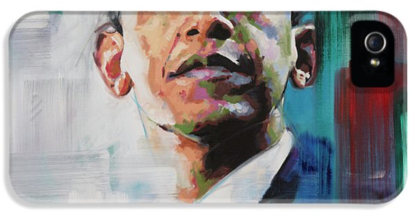 Obama IPhone 5 Case by Richard Day