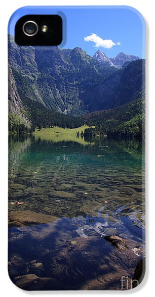 Obersee IPhone 5 Case by Nailia Schwarz