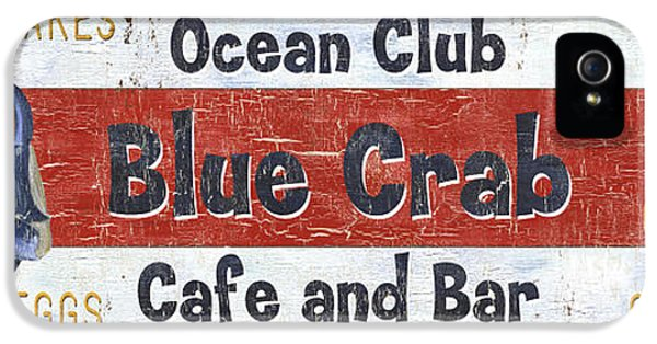 Ocean Club Cafe IPhone 5 Case by Debbie DeWitt