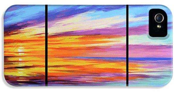 Beach Sunset iPhone 5 Case - Ocean Sunset by Graham Gercken