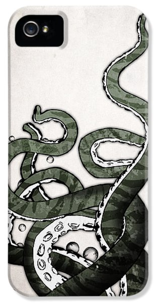Octopus Tentacles IPhone 5 Case by Nicklas Gustafsson