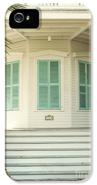 Octagon House IPhone 5 Case by Juli Scalzi