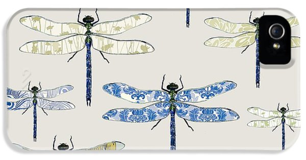 Odonata IPhone 5 Case by Sarah Hough