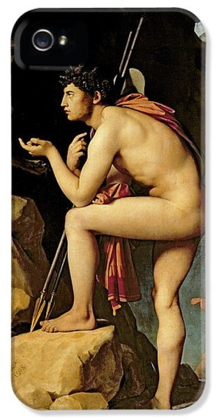 Oedipus And The Sphinx IPhone 5 Case