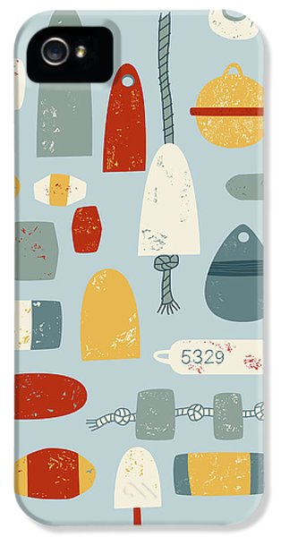 Boat iPhone 5 Case - Oh Buoy by Nic Squirrell