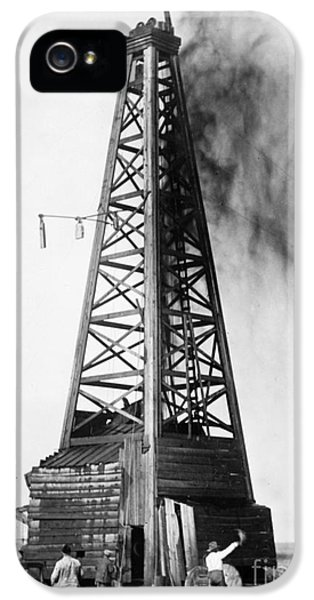 Oklahoma: Oil Well, C1922 IPhone 5 Case