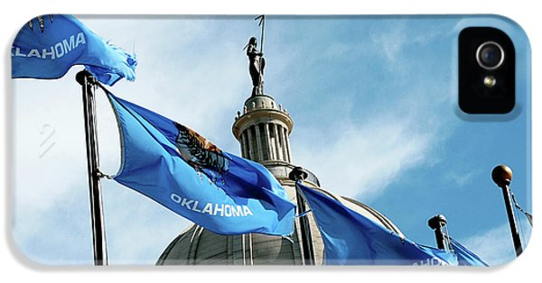 Oklahoma  IPhone 5 Case by Toni Hopper
