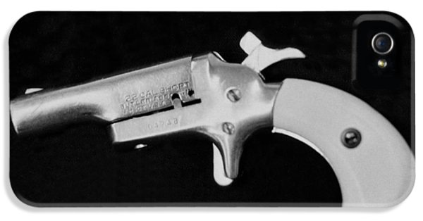 Old 22 Caliber Derringer IPhone 5 Case by Underwood Archives