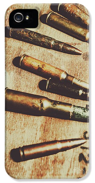 Old Ammunition IPhone 5 Case by Jorgo Photography - Wall Art Gallery