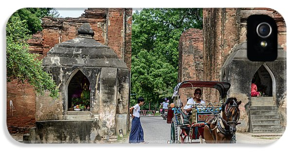 Old Bagan IPhone 5 Case by Werner Padarin