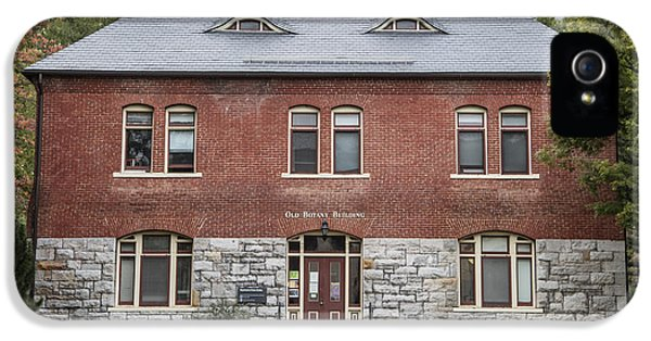 Old Botany Building Penn State  IPhone 5 Case by John McGraw