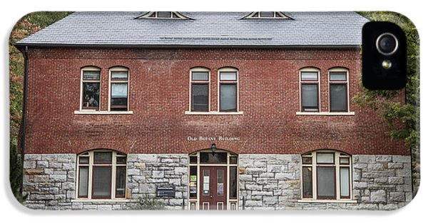 Old Botany Building Penn State  IPhone 5 / 5s Case by John McGraw