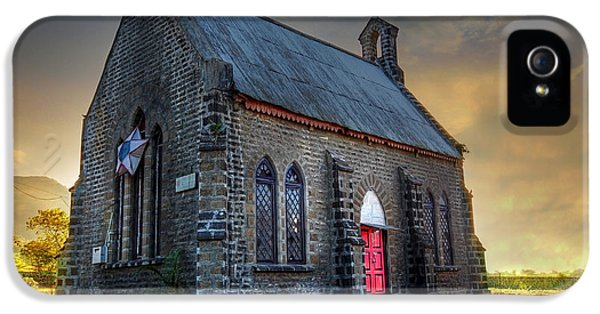 Old Church IPhone 5 Case by Charuhas Images