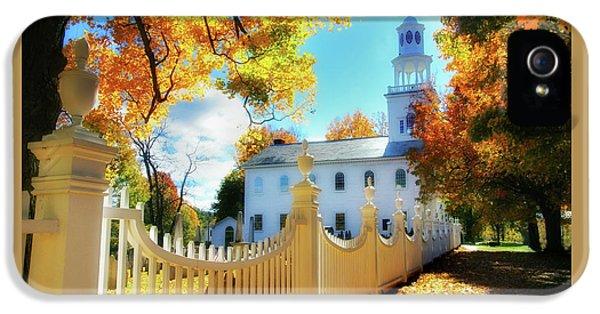 Old First Church Of Bennington IPhone 5 Case