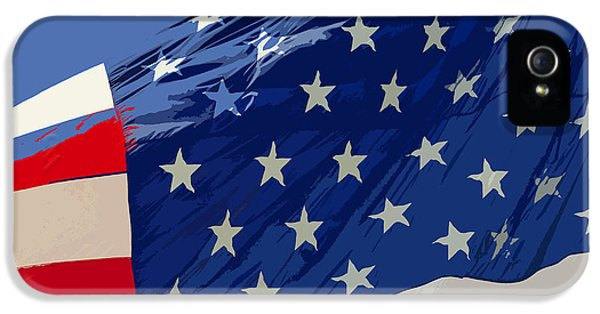 Old Glory IPhone 5 Case by David Lee Thompson