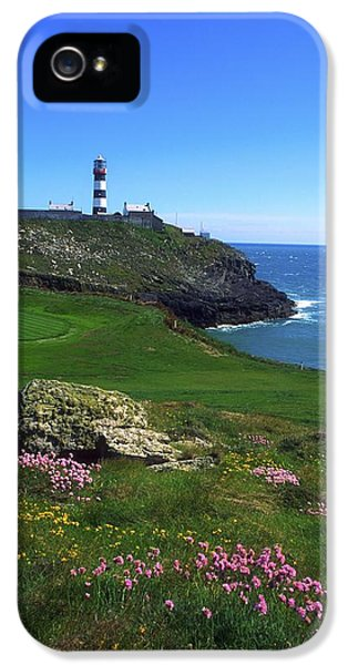 Old Head Of Kinsale Lighthouse IPhone 5 Case by The Irish Image Collection