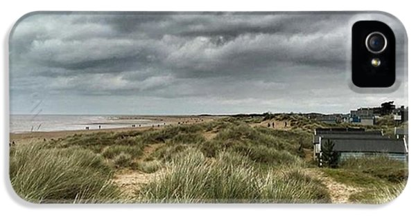 Old Hunstanton Beach, North #norfolk IPhone 5 Case by John Edwards