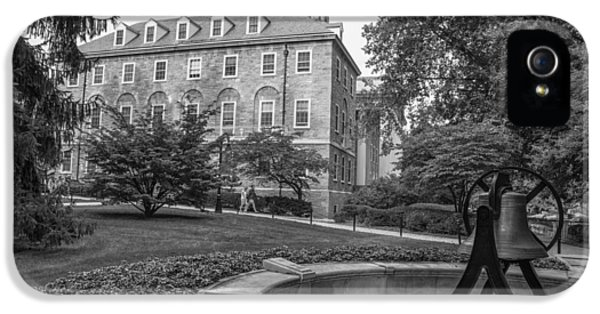 Old Main Penn State University  IPhone 5 Case by John McGraw