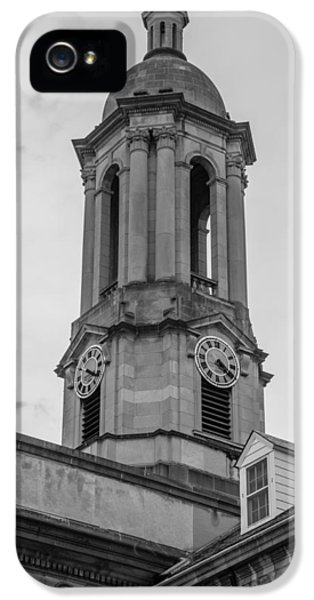 Old Main Tower Penn State IPhone 5 Case by John McGraw