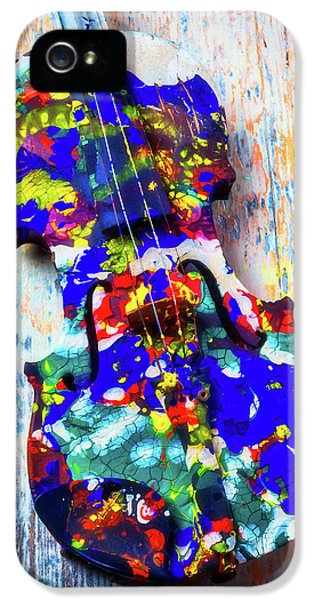 Old Painted Violin IPhone 5 Case