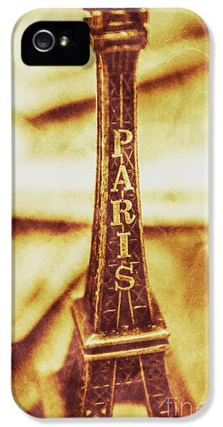 Old Paris Decor IPhone 5 Case by Jorgo Photography - Wall Art Gallery