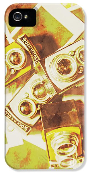 Old Photo Cameras IPhone 5 Case