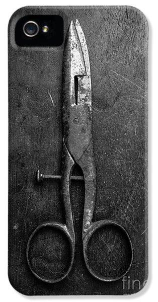 Old Scissors IPhone 5 Case