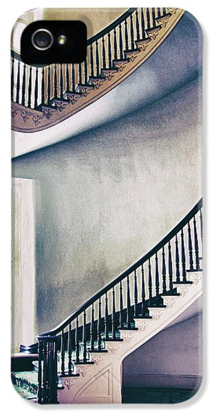 Old Staircase Stories IPhone 5 Case by Iryna Goodall