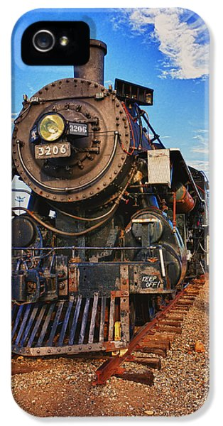 Old Train IPhone 5 Case by Garry Gay