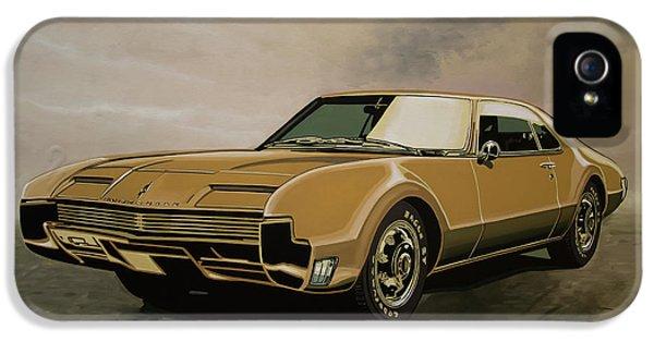 Oldsmobile Toronado 1965 Painting IPhone 5 Case
