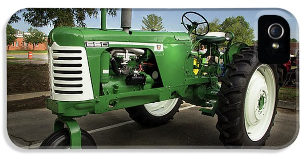 Oliver Tractor iPhone 5 Case - Oliver 660 by Mike Eingle